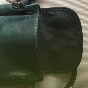 Charter Club Bags - Charter Club Green Leather shoulder small purse